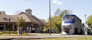train at rosemere